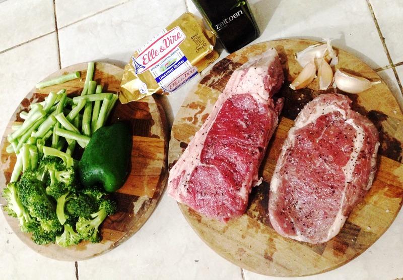 bahan steak